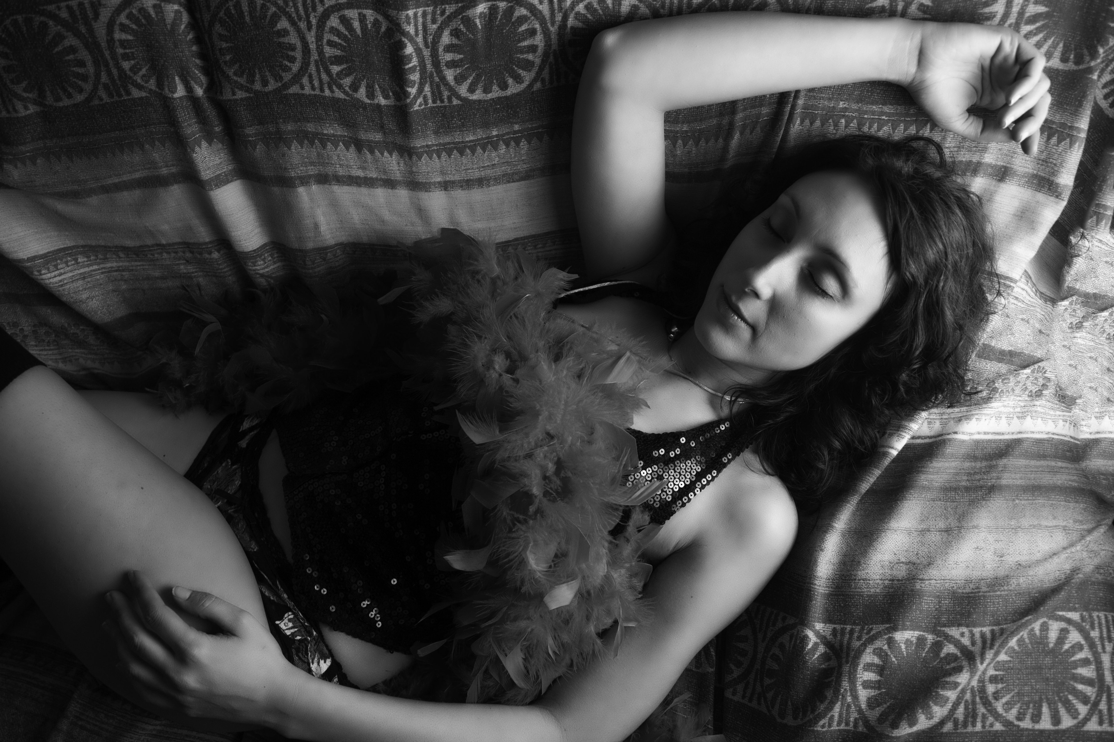 Sleeping Beauty B & W